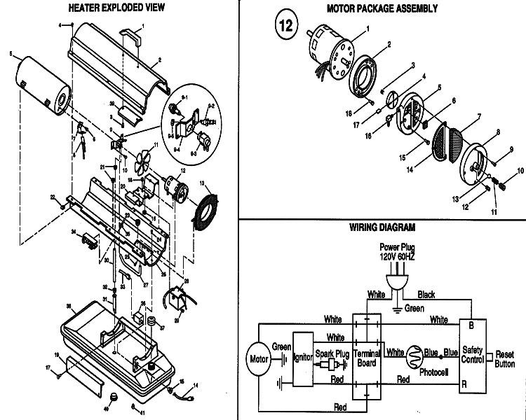 ford light switch diagram