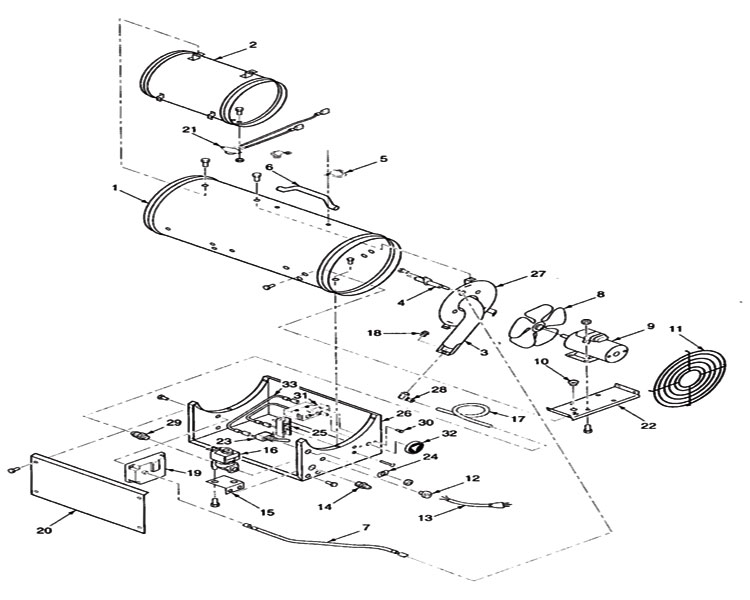 Reddy Heater Replacement Parts Engine Diagram And Wiring